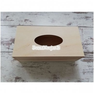 Stačiakampė dėžutė servetėlėms, ant kojelių 3