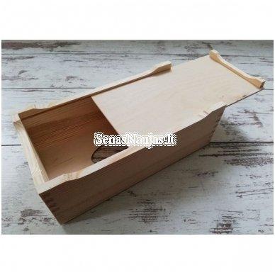 Stačiakampė dėžutė servetėlėms, ant kojelių 2