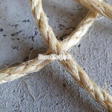 Sukta sizalio (agavos) virvė 4