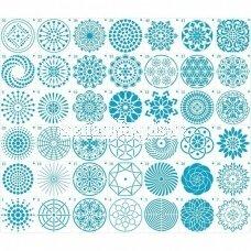 A set of 42 Stencils