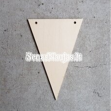 Trikampė detalė girliandai, 1 vnt.
