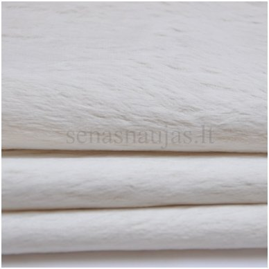 Viskozės kailis (balta spalva) 2