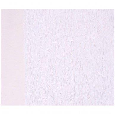 Viskozės kailis (balta spalva) 3