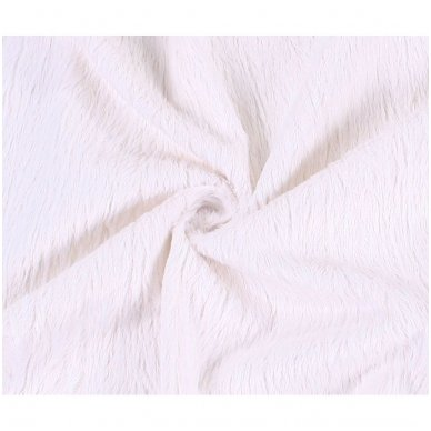 Viskozės kailis (balta spalva) 4