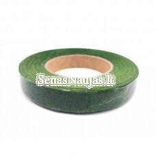 Žalia floristinė popierinė juostelė